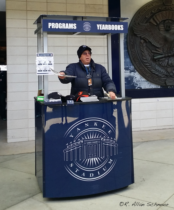NYY Stadium Program Vendor