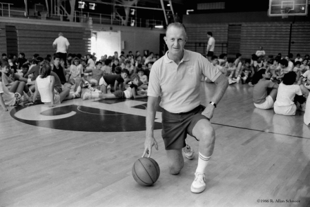 Jack Curran, pictured here at his Summer Basketball Camp at Fordham University