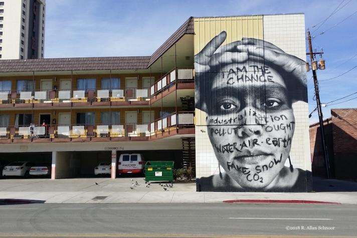 Reno Hotel Mural