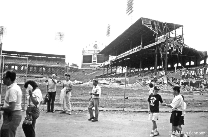 Original Comiskey Park, Chicago, Illinois